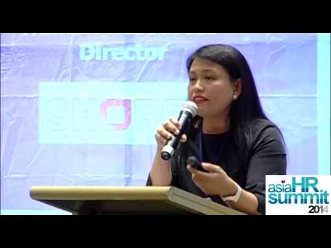 ASIA HR SUMMIT 2014. Speaker : RUBY MACARAEG, Human Resources Director, SHORE Solutions