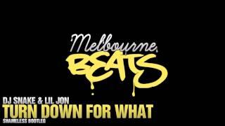 DJ Snake & Lil Jon   Turn Down For What Shameless Bootleg
