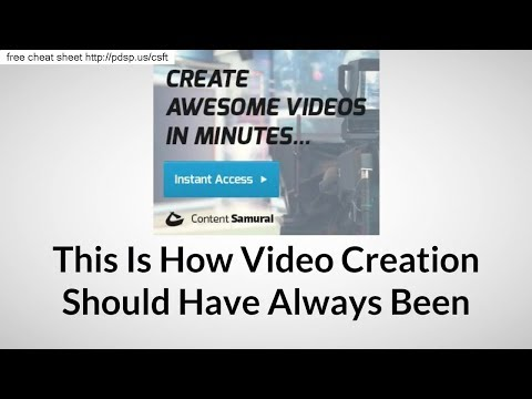 Content Samurai Review Of Content Samurai Free Trial Offer