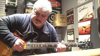 Epiphone vs Ibanez semi-hollow. One of them disapointed me - Rick goes to the music store.