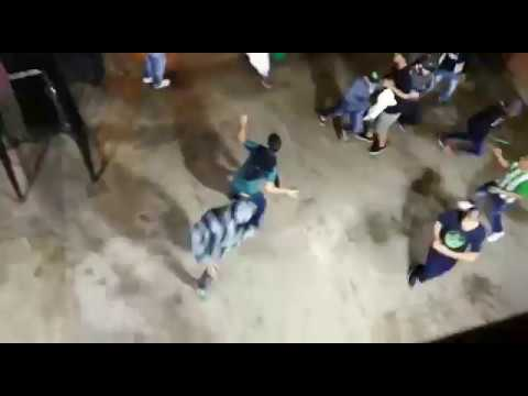 En enfrentamientos entre hinchas terminó partido Nacional vs América [Noticias] - Telemedellín