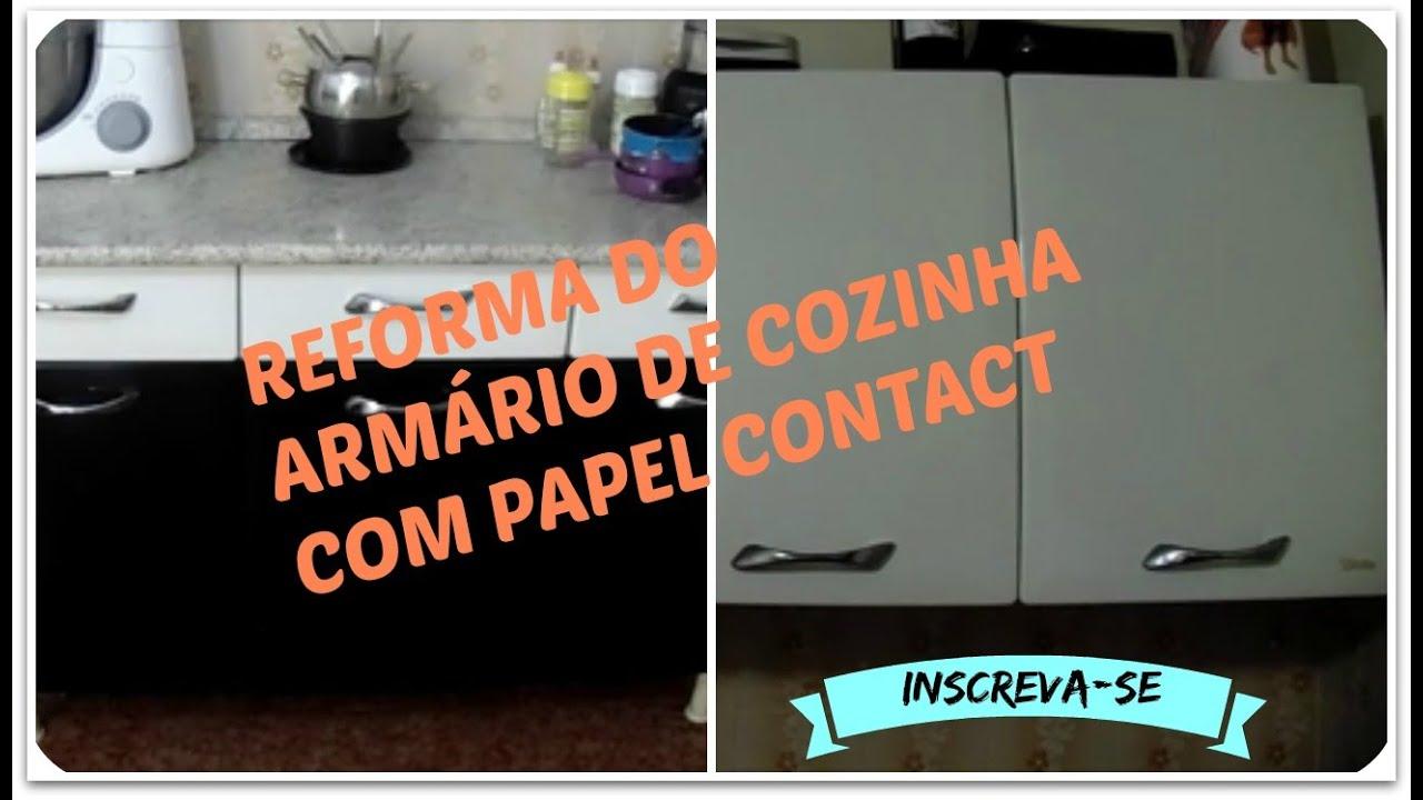 Papel De Parede No Armario De Cozinha : Decore seu arm?rio de cozinha com papel contact quot s?rie