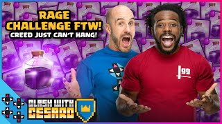 RAGE CHALLENGE CONQUERED!!! CREED & CESARO replay the epic win! - Clash With Cesaro