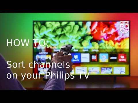 How To Sort Channels On Your Philips TV