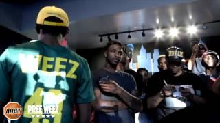 Pree Weez vs K.T.   Rap Battle   AHAT Atlanta