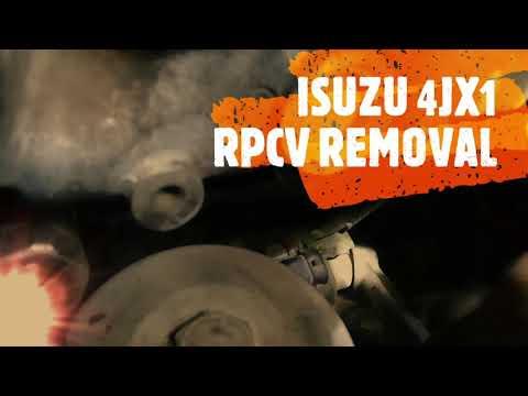 Isuzu 4jx1 | RPCV Removal DIY