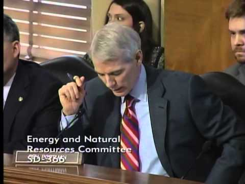 Portman Discusses National Parks at Energy and Natural Resources Committee Hearing