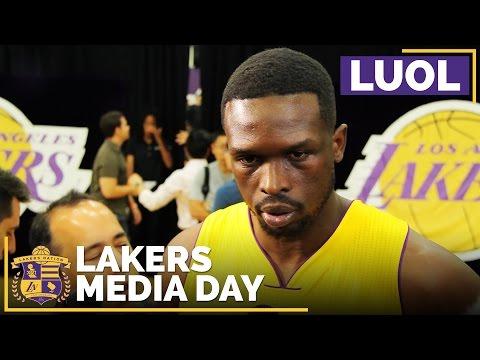 Lakers Media Day 2016: Luol Deng On Brandon Ingram, New Atmosphere