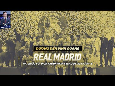 ĐƯỜNG ĐẾN VINH QUANG   REAL MADRID VÀ CHỨC VÔ ĐỊCH CHAMPIONS LEAGUE 20172018