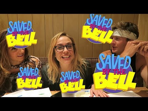 WE ATE AT THE SAVED BY THE BELL DINER In West Hollywood, CA
