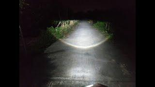 Gương cầu led mini chân h4 | H4 MINI LED LENS Video