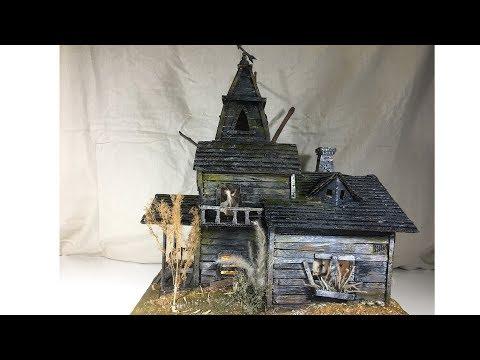 DIY Haunted House Using Cardboard
