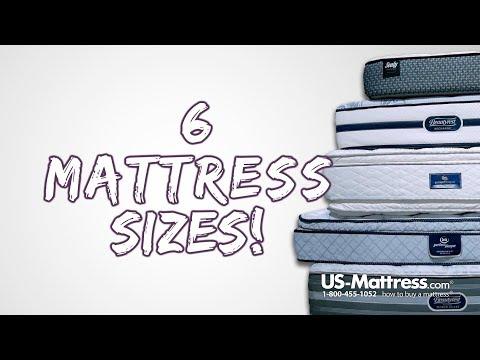 6 Mattress Sizes - Tips to Avoid Picking the Wrong Mattress Size