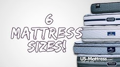 6 Mattress Sizes - Tips to Avoid Picking the Wrong Mattress Size
