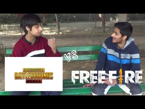 Pubg Vs Free Fire Funny Video