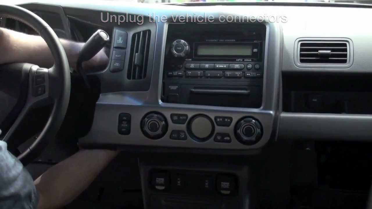 Ridgeline iPod Attachment Installation (Honda Answers #70) - YouTube