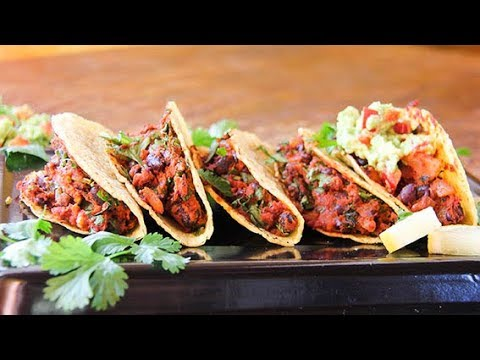 Easy Black Bean Vegan Tacos – absolutely delicious