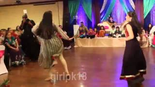 Pakistani Wedding Sweet Girls Dance on