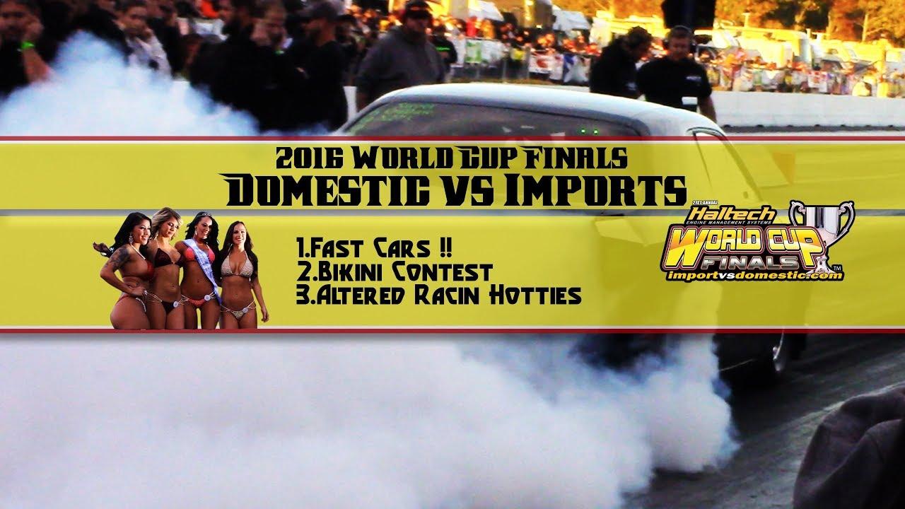 Drag racing bikini contest