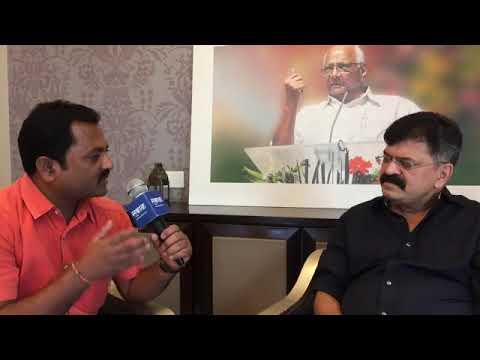 राष्ट्रवादीची धडाडणारी तोफ जितेंद्र आव्हाडांशी खास गप्पा   Sarkarnama Interview With Jitendra Awhad