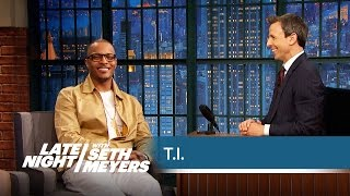T.I. Hints at His Role in Ant-Man - Late Night with Seth Meyers