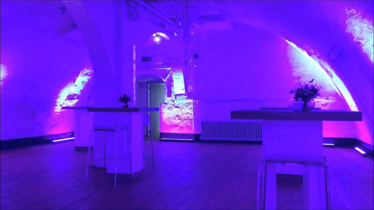Vaste installatie LED verlichting Kasteel Dussen - YouTube