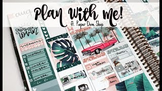 "Plan With Me! ft. Paper Dove Shop ""Michelle"""