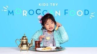 Kids Try Moroccan Food | Kids Try | HiHo Kids