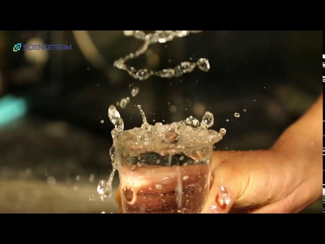 [과학실험]소리와파동을 이용한 물줄기의 흐름 실험