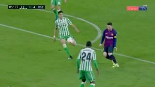 Lionel Messi Hat trick goal  vs Real Betis