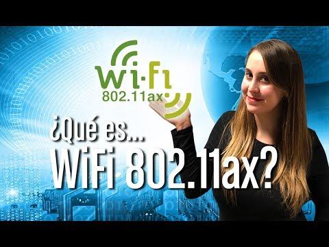 ¿Qué es WiFi 802.11ax?