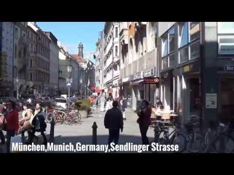 München City Munich Germany,mit Text