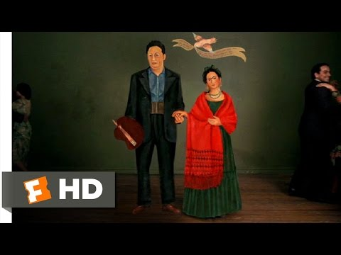 Frida (5/12) Movie CLIP - Frida And Diego's Wedding (2002) HD