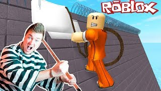 ROBLOX: ULTIMATE PRISON ESCAPE AND BANK ROBBERY W/ PAPA Jake!!! (Roblox Gameplay)