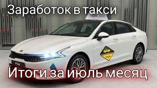 Фото Заработок в такси в городе Москва, за июль месяц