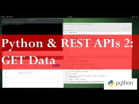 Python and REST APIs 2 - GET Data