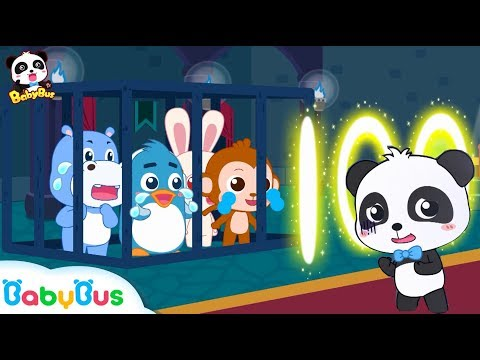 Baby Panda's Number Magic | Kiki Rescues Friends | Math Kingdom Adventure | Panda Cartoon | BabyBus
