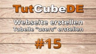 HTML5 & CSS3 - Webseite erstellen (Login [Tabelle
