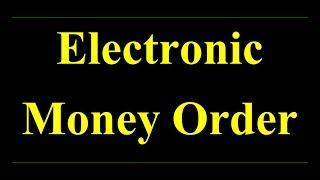 """Electronic Money Order """"EMO"""" इलेक्ट्रानिक मनी ऑर्डर द्वारा पैसे कैसे भेजे"""