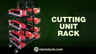 R&R Products - Greensmower Cutting Unit Rack