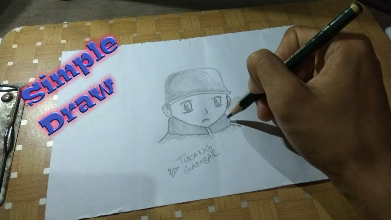 Cara menggambar wajah anime dengan pensil - Tukang Gambar ...