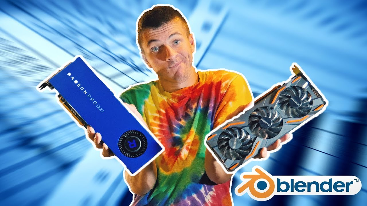 Best Gpu For Blender 2019 the best GPU for Blender?   YouTube