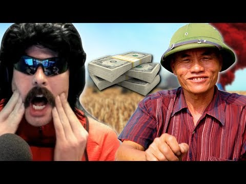 DrDisRespect Gets $1,000 Donation from VIETNAM and INSANE Duos Win with VSNZ in PUBG (8/14/18)