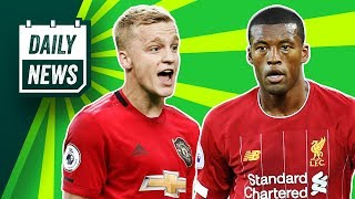 Which Ajax star could be off to Man United? + Gini to STAY! ► Daily News
