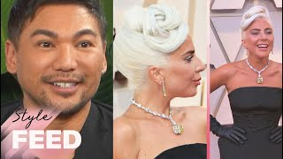 Lady Gaga's Hairstylist Looks Back on a Decade of Red Carpet Styles | ET Style Feed