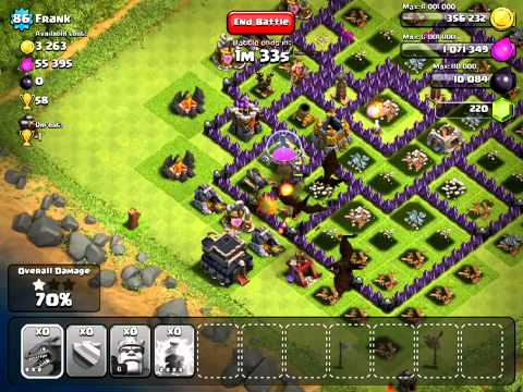 Clash of Clans [EPIC] Jorge Yao Style Attack v. Lvl 86 Town Hall 9