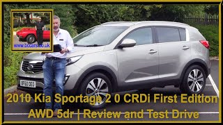Review and Virtual Video Test Drive In Our 2010 Kia Sportage 2 0 CRDi First Edition AWD 5dr BF60OEO