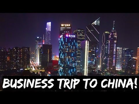 BUSINESS TRIP TO CANTON FAIR ON CHINA SOUTHERN AIRLINES!