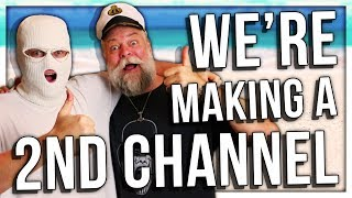 ME AND PAPA MAKING ANOTHER CHANNEL! (ANOMALY & PAPANOMALY)