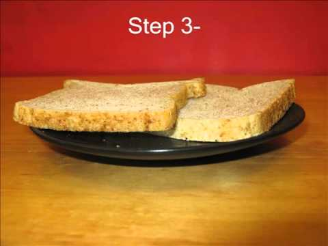 Written instructions on how to make a peanut butter and jelly sandwich